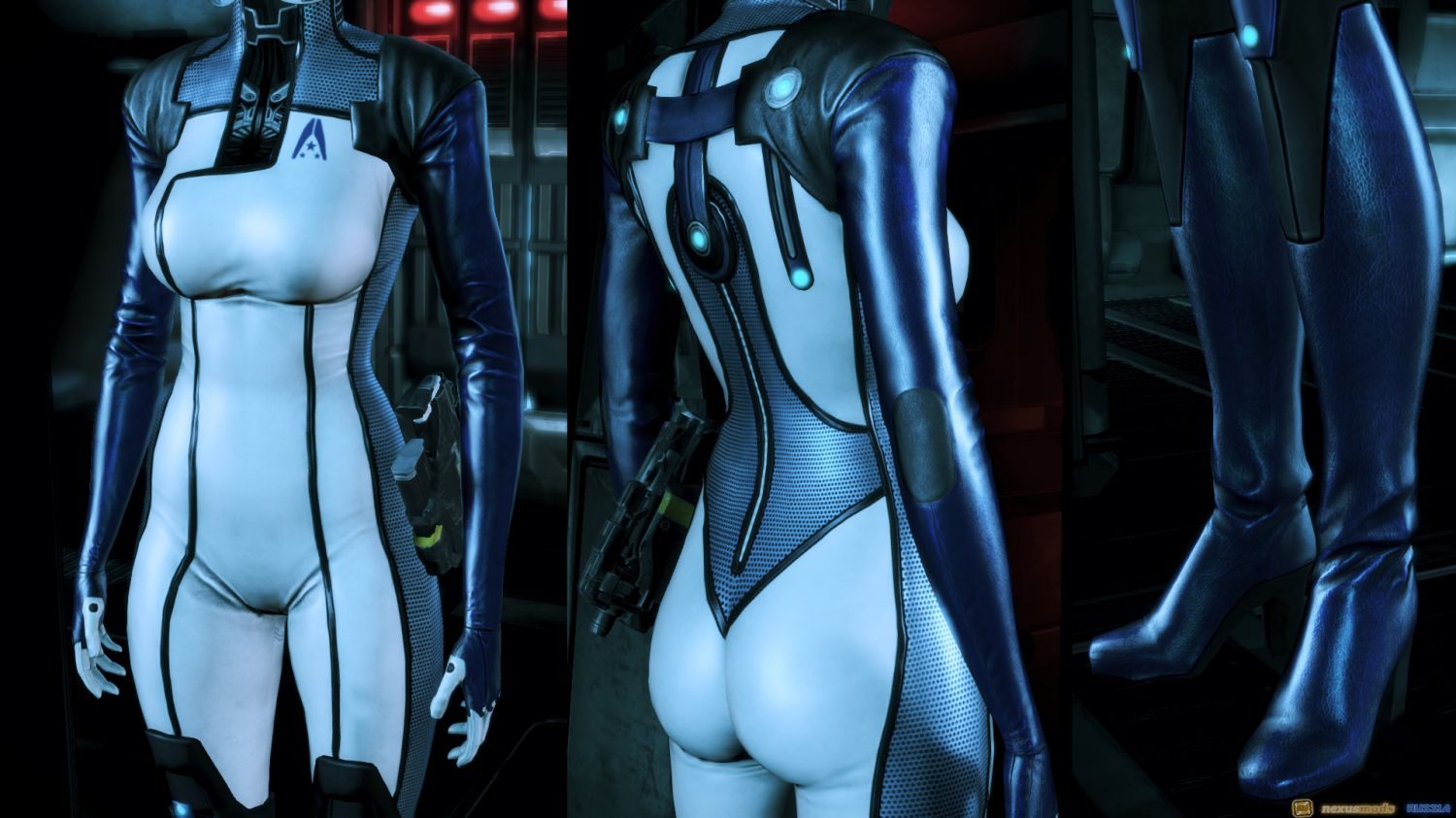 Ashley williams mass effect nude skins sex movie