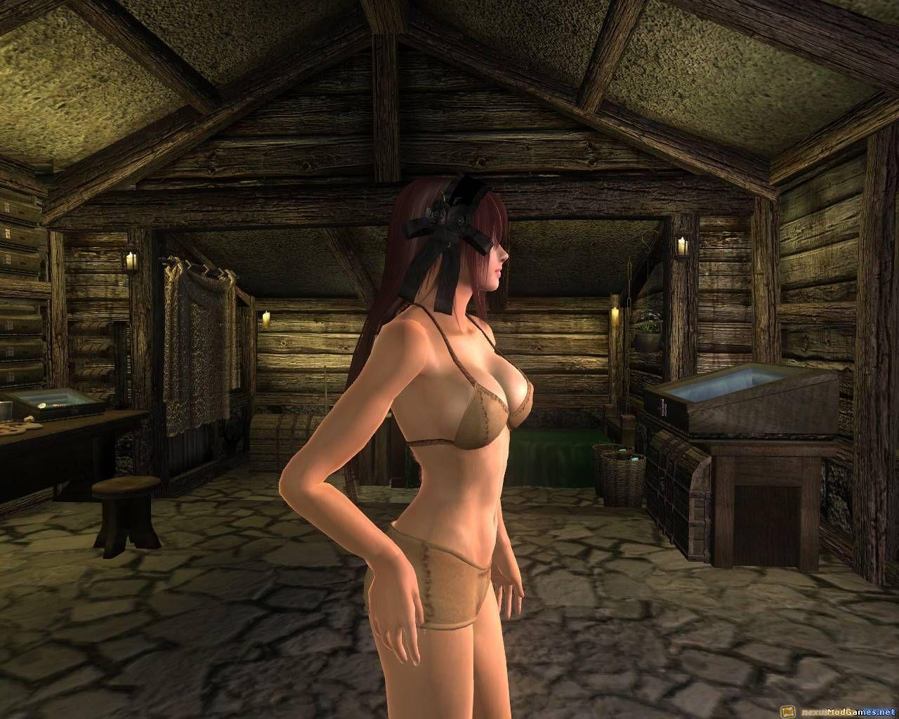 morrowind плагины голые тела-бя1