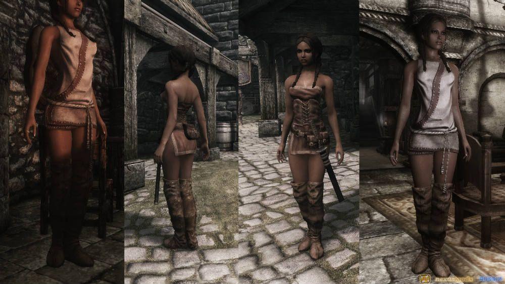 Сексуальные платья для скайрим