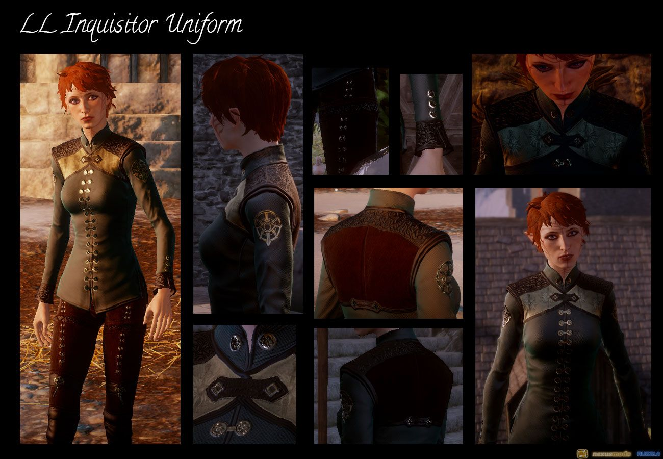 LL Inquisitor's Uniform