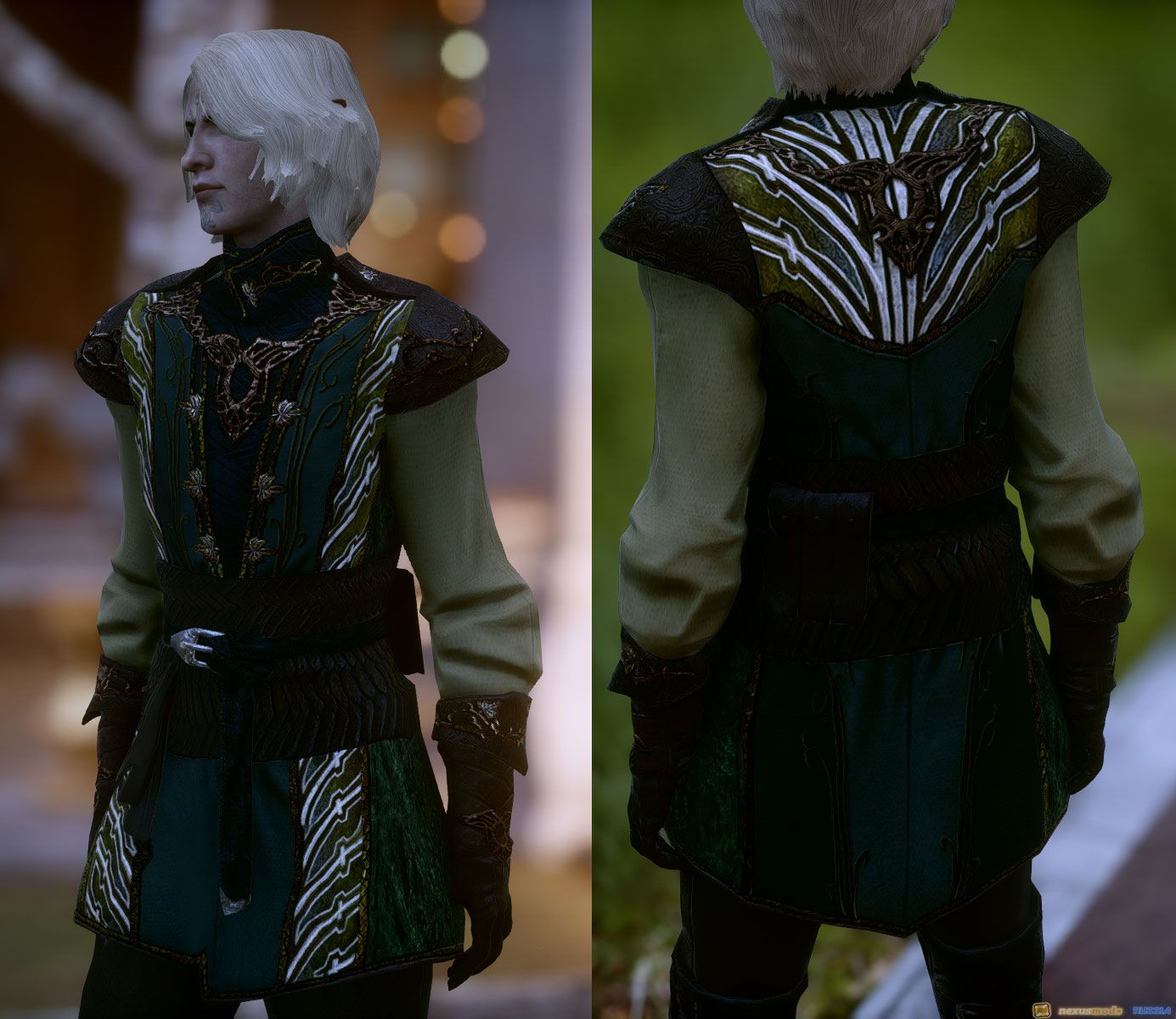 Winter Palace Outfit ReTexture