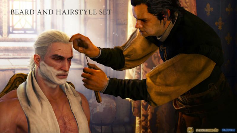 DLC 2 - The Witcher 3: Beard and Hairstyle Set