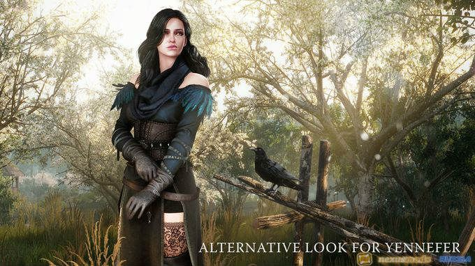 DLC 4 - The Witcher 3: Alternative Look for Yennefer
