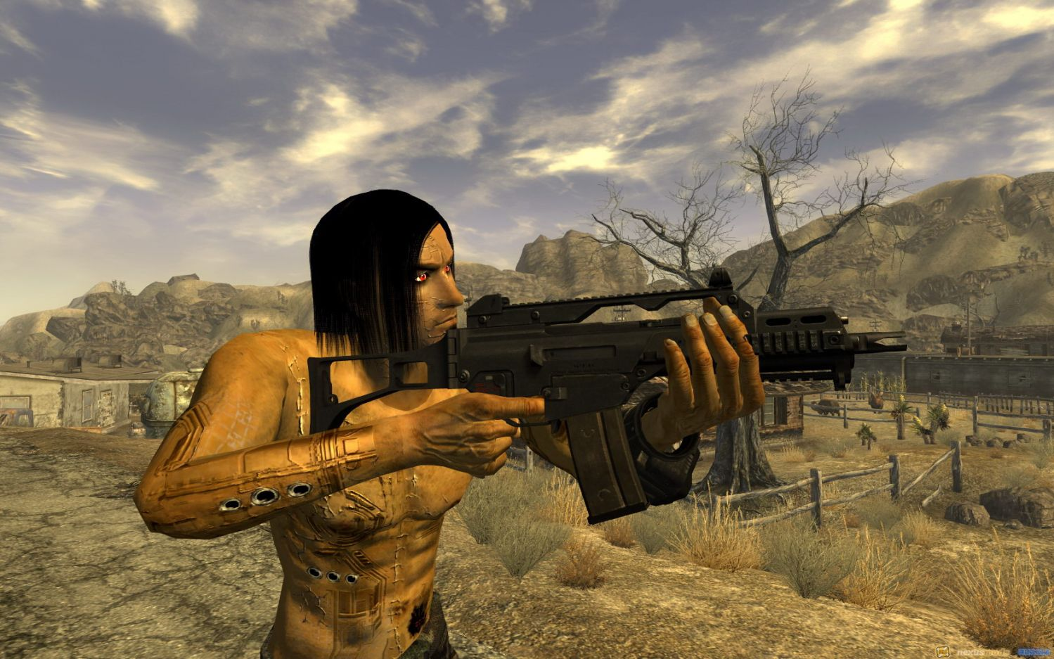Fallout (video game series), coilgun (invention), carl friedrich gauss (academic), fallout 4, action