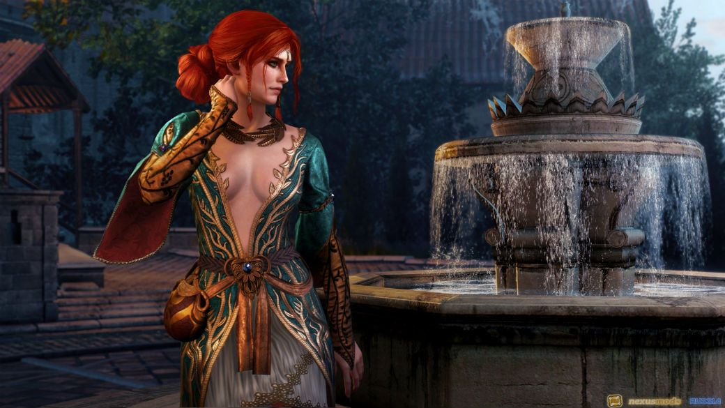 DLC 9 - The Witcher 3 Wild Hunt - Alternative Look for Triss