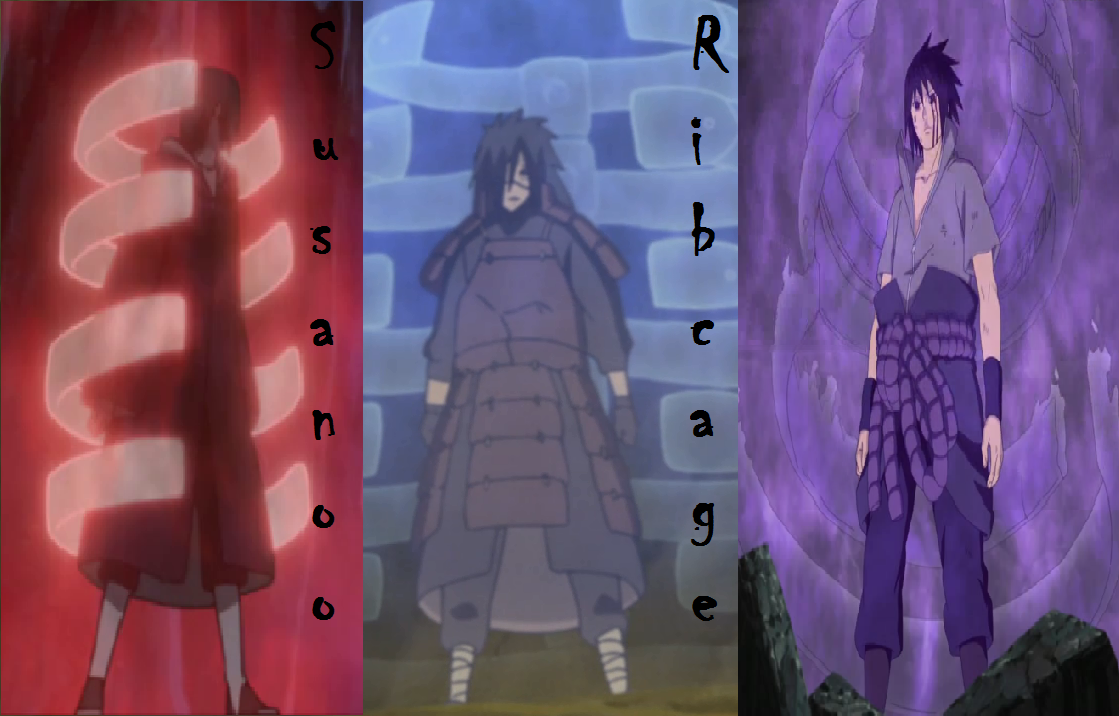 Naruto Susanoo Ribcages Power