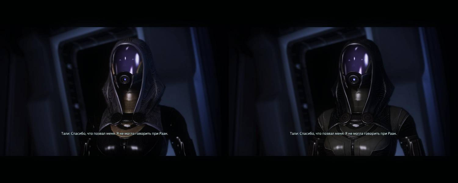 |Mass Effect 3| Outfit Tali of Mass Effect 2 to Mass Effect 3