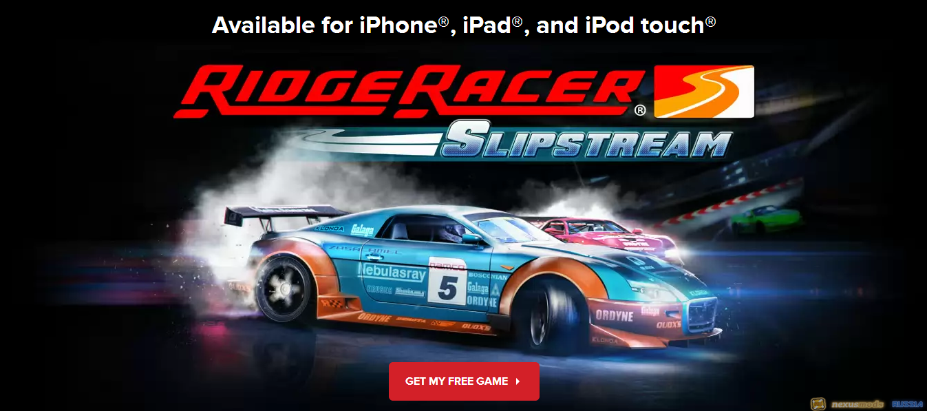 ПОЛУЧАЕМ БЕСПЛАТНО RIDGE RACER SLIPSTREAM(iPhone, iPad, iPod touch)